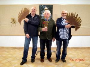 Norbert Göbel, Werner Feger, Gerd Faulhaber
